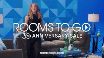 Rooms to Go 30th Anniversary Sale TV Spot, 'Here's to 30 Years' Featuring Julianne Hough - Thumbnail 10