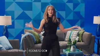 Rooms to Go 30th Anniversary Sale TV Spot, 'Here's to 30 Years' Featuring Julianne Hough - Thumbnail 2