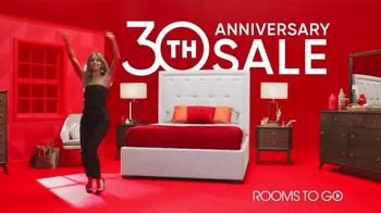 Rooms to Go 30th Anniversary Sale TV Spot, 'Here's to 30 Years' Featuring Julianne Hough - Thumbnail 9