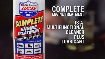Lucas Oil Complete Engine Treatment TV Spot, 'Better Fuel Burn'
