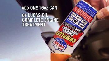 Lucas Oil Complete Engine Treatment TV Spot, 'Better Fuel Burn' - Thumbnail 5