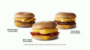 McDonald's Breakfast Bagels TV Spot, 'Attention Bagel Fans' - Thumbnail 4