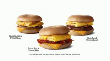 McDonald's Breakfast Bagels TV Spot, 'Attention Bagel Fans' - Thumbnail 5