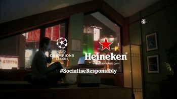Heineken TV Spot, 'UEFA Champions League: Never Watching Alone' - Thumbnail 9