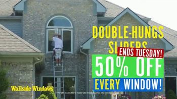 Wallside Windows TV Spot, 'Invest in the Best: 50% Off and Five Years No Interest'