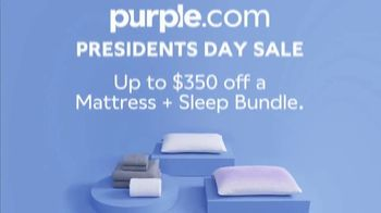 Purple Mattress Presidents Day Sale TV Spot, 'Angry Memory Foam' - Thumbnail 10