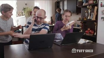 Tuff Shed TV Spot, 'Give Your Home Some Space' - Thumbnail 2