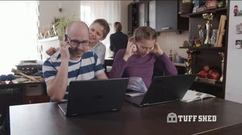 Tuff Shed TV Spot, 'Give Your Home Some Space'