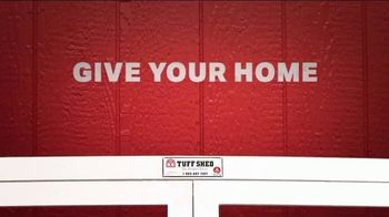Tuff Shed TV Spot, 'Give Your Home Some Space' - Thumbnail 5