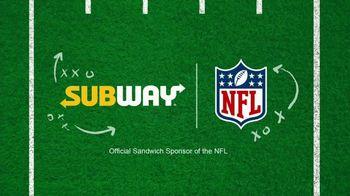 Subway TV Spot, 'NFL: Flag Football: Freshest Plays of the Week: Devour the Defense' - Thumbnail 2