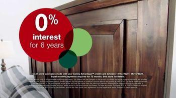 Ashley HomeStore Black Friday Sale TV Spot, '50% Off and 0% Interest' - Thumbnail 3