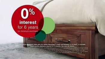Ashley HomeStore Black Friday Sale TV Spot, '50% Off and 0% Interest' - Thumbnail 4