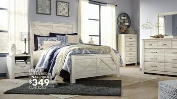 Ashley HomeStore Lowest Prices of the Season TV Spot, 'Final Days: Queen Bed, Living Room' - Thumbnail 5