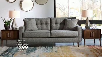 Ashley HomeStore Lowest Prices of the Season TV Spot, 'Final Days: Queen Bed, Living Room' - Thumbnail 6