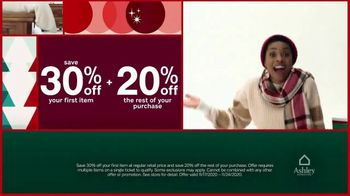 Ashley HomeStore Black Friday Deal Days TV Spot, 'Save 20% and 30% Off'
