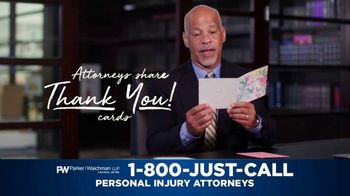 Parker Waichman TV Spot, 'Thank You Cards: Passion and Professionalism' - Thumbnail 2