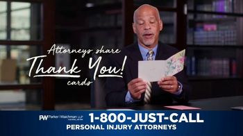 Parker Waichman TV Spot, 'Thank You Cards: Passion and Professionalism' - Thumbnail 3