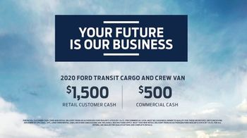 2020 Ford Transit TV Spot, 'Your Future Is Our Business' [T2] - Thumbnail 10