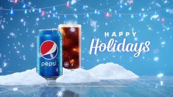 Pepsi TV Spot, 'Holidays: That's What I Like'