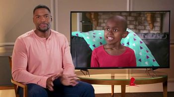 St. Jude Children's Research Hospital TV Spot, 'I'm Looking at St. Jude' Featuring Michael Strahan - Thumbnail 5