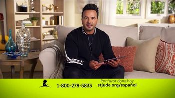 St. Jude Children's Research Hospital TV Spot, 'Fiestas: saludos' con Luis Fonsi [Spanish] - 317 commercial airings