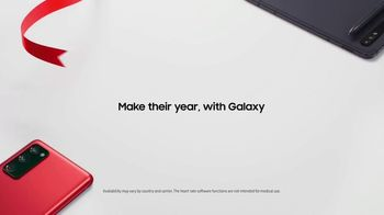Samsung Galaxy TV Spot, 'Holidays: Make Their Year, With Galaxy S20 FE' Song by The Morning Benders - Thumbnail 8