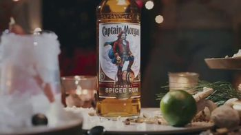 Captain Morgan Original Spiced Rum TV Spot, 'Holidays: Melting Snowman' - Thumbnail 1