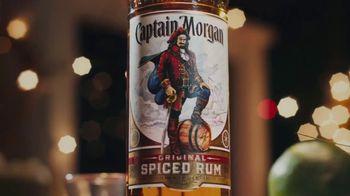 Captain Morgan Original Spiced Rum TV Spot, 'Holidays: Melting Snowman'