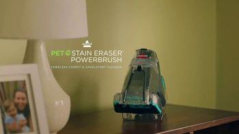 Bissell Pet Stain Eraser Powerbrush TV Spot, 'Always Ready'