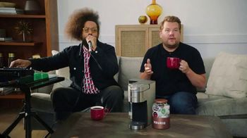 Keurig K-Supreme Plus Brewer TV Spot, 'Beyond Words' Featuring James Corden, Reggie Watts