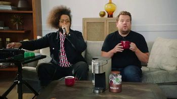 Keurig K-Supreme Plus Brewer TV Spot, 'Beyond Words' Featuring James Corden, Reggie Watts - Thumbnail 1