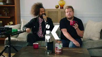 Keurig K-Supreme Plus Brewer TV Spot, 'Beyond Words' Featuring James Corden, Reggie Watts - Thumbnail 9