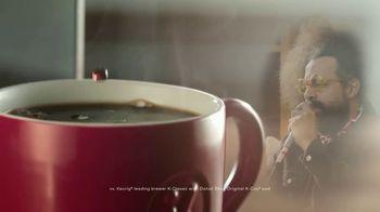 Keurig K-Supreme Plus Brewer TV Spot, 'Beyond Words' Featuring James Corden, Reggie Watts - Thumbnail 8