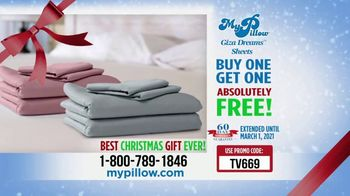 My Pillow Mike's Christmas Special TV Spot, 'Buy One Get One: Giza Dream Sheets' - Thumbnail 10