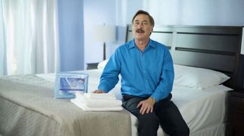 My Pillow Mike's Christmas Special TV Spot, 'Buy One Get One: Giza Dream Sheets' - Thumbnail 3