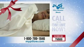 My Pillow Mike's Christmas Special TV Spot, 'Buy One Get One: Giza Dream Sheets' - Thumbnail 6