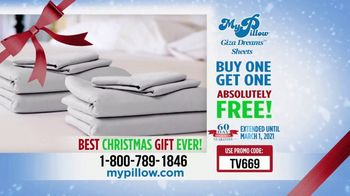 My Pillow Mike's Christmas Special TV Spot, 'Buy One Get One: Giza Dream Sheets' - Thumbnail 7