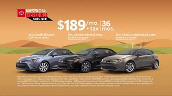 Toyota Mission: Incredible Sales Event TV Spot, 'In Motion: Corolla' [T2] - Thumbnail 5