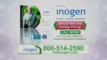 Inogen Special Year End Holiday Pricing TV Spot, 'Holiday Cheer' - Thumbnail 5