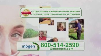 Inogen Special Year End Holiday Pricing TV Spot, 'Holiday Cheer' - Thumbnail 4
