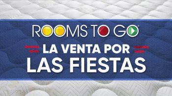Rooms to Go La Venta por las Fiestas TV Spot, 'El colchón perfecto' [Spanish] - Thumbnail 2