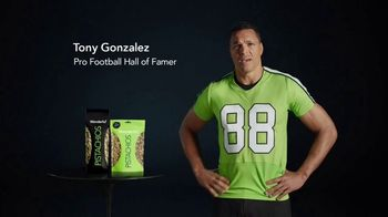 Wonderful Pistachios TV Spot, 'Jumbo-tron' Featuring Tony Gonzalez - Thumbnail 1