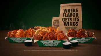 Wingstop Thighs TV Spot, 'All the Flavors'