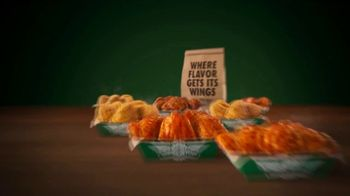 Wingstop Thighs TV Spot, 'All the Flavors' - Thumbnail 6