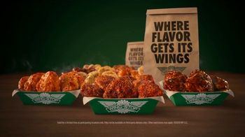 Wingstop Thighs TV Spot, 'All the Flavors' - Thumbnail 9