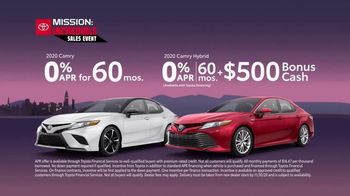 Toyota Mission: Incredible Sales Event TV Spot, 'Score the Biggest Savings' [T2] - Thumbnail 4