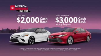 Toyota Mission: Incredible Sales Event TV Spot, 'Score the Biggest Savings' [T2] - Thumbnail 5
