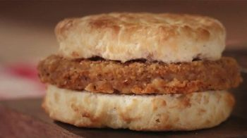 Bojangles Steak Biscuit TV Spot, 'Holidays: You're Not Seeing Double' - Thumbnail 1