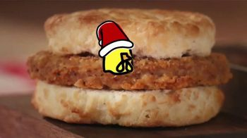 Bojangles Steak Biscuit TV Spot, 'Holidays: You're Not Seeing Double' - Thumbnail 2