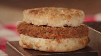 Bojangles Steak Biscuit TV Spot, 'Holidays: You're Not Seeing Double' - Thumbnail 7